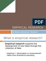 Empirical Research