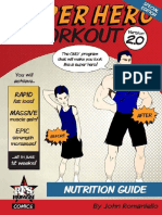 SuperHero NutritionGuide