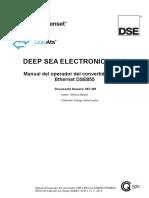 Dse855 Operator Manual