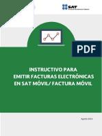 Instructivo FE en SAT Móvil_Factura Móvil