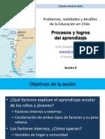 JJBRUNER, Chile, Procesos y Logros de Aprendizaje