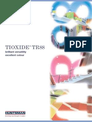 tioxide tr 88 qpros pdf | Titanium Dioxide | Paint