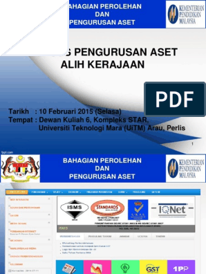 Slide Kursus Pengurusan Aset 1pp 1 2