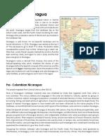 History of Nicaragua