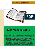 Adv Yanzi 2 Artikel dan Press Release.ppt