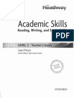 Academic Skills 2 - Teachers Book