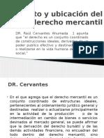 Concepto y Ubicación Del Derecho Mercantil