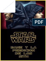Bane y La Perdicion de Los Sith - Anderson, Kevin J