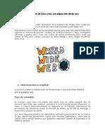 Curso Gratis de Cómo Crear Una Página Web Desde Cero