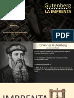 Gutember y La Imprenta