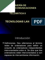 2 Tecnologías LAN