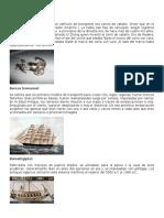 Medios de Transporte y Comunicación de La Antiguedad y Actualidad