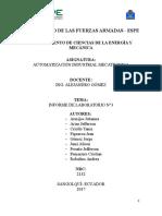 Informe  Automatización
