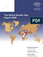 The Global Gender Gap Report 2006