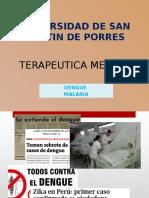 Terapéutica - Dengue y Malaria