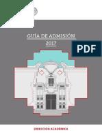 Guia Admision Ensabap 2017