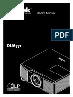 29229-VivitekDU6771ProjectorManual