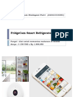 FridgeCam Smart Refrigerator Camera