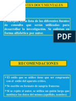 Fuentes Documentales Investigacion