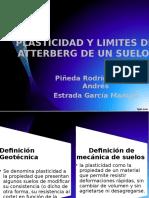Plasticidad y Limites de Atterberg de Un Suelo