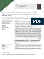 Efecto de La Formulacion Sobre La Vida Util de Bioplaguicidas TRICHODERMA
