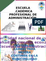 Gestion Del Cambio Municipalidad de Matapalo