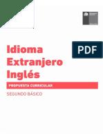 Propuesta Curricular Inglés 2° básico
