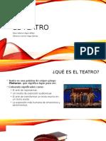 Presentación, El teatro