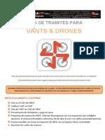 Pasos ANAC Para Matricularse Vant&Drone