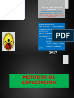 Exposicion Metodos de Explotacion