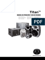 Titan Series User Manual With D-Spanish