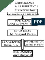 Struktur Kelas II
