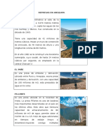 Represas en Arequipa