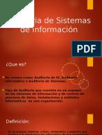 Auditoria de Sistemas de Información