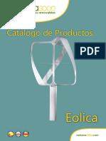 110823 Catalogo EspanÞol Eolica