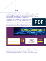 Semiconductor. ENLACE PN