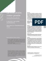 La Educación Como Praxis Transformadora - Franco Patiño