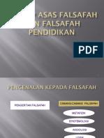 BAB 2 KONSEP ASAS FALSAFAH DAN FALSAFAH PENDIDIKAN BAB 2 - Copy.ppt