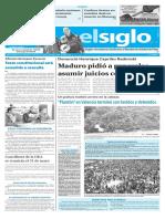 Edición Impresa El Siglo 16-05-2017