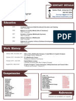Hassey CV With Design Folio