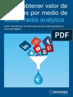 Como Conseguir Valor de Negocio Con Social Media Analytics