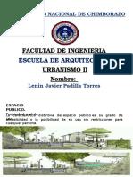 Urbanismo II