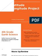 latitude longitude project