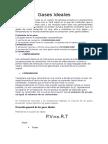 Gases Ideales- Monografia