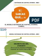 Presentación Meci Decreto 943