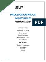 fermentacion procesos quimicos