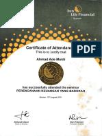 Sertifikat Keuangan Syariah