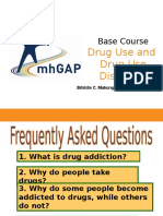 Drug Use and Drug Use Disorders