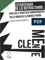 Las Estrategias de Lo Refractario - Martín Palacio Gamboa