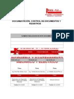 RM-PG42-SSOMA Documentación, Control de Documentos y Registros